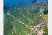 한라산의 속살을 보여주는 탐라계곡[드론으로 본 제주 비경]