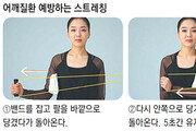 밴드 당기기 운동, 어깨 근육 강화에 효과