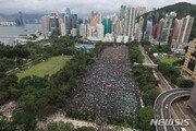 """캐리 람, 홍콩 시위대에 또 """"진심어린 대화 희망"""""""
