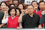 조국 압색에 수위 높이는 한국당…동시특검·해명·단식까지