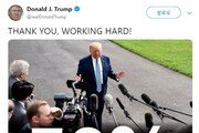 """미 국민 절반이 탄핵 찬성하는데…트럼프 """"열심히 하겠다!"""""""
