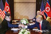 """美국무부 """"트럼프 대통령, 싱가포르 북미 정상회담 합의 진전 의지 분명"""""""