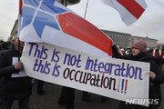 벨라루스, 러시아에 합병되나…정상회담중 국민시위 '폭발'