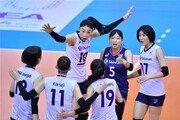[배구올림픽 예선] 여자대표팀은 낙승, 남자대표팀은 아쉽게 분패