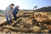 중국산 희귀 조경석이 왜 익산 왕궁리서 나왔을까?[김상운 기자의 발굴왕]