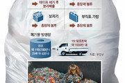 """종량제 봉투속에 비닐-플라스틱 꽉꽉… """"쓰레기 30%가 포장재"""""""