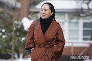 캐나다 '화웨이 재판' 시작…멍완저우 법원 도착
