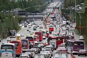 [고속도로 교통상황] 시작된 '귀성길 전쟁'…오전 11시 절정