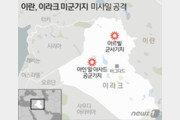 """美국방부 """"이달 초 이란군 미사일 공격에 34명 부상"""""""