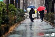 [날씨] 연휴 뒤 첫 출근날 비·눈…모처럼 대기질 청정