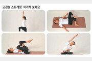 허리-골반 부분 쭉쭉… 엉덩이근육 단련에 효과