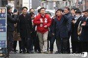한국당, 황교안 중심 '한강벨트' 현실화…홍준표 'PK 수비대장' 될까