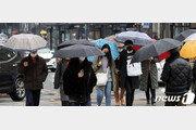 [날씨]10일 전국에 봄비 강원·제주 최대 60㎜…밤에 그쳐
