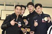 '세계 최강' 한국 펜싱 男사브르, 룩셈부르크 월드컵 우승