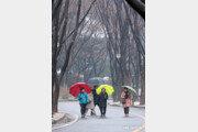 [날씨]10일 새벽부터 전국에 봄비…수도권 등 미세먼지 '나쁨'