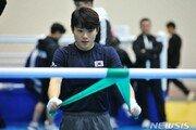 '도쿄행' 여자복싱 오연지, 올림픽 예선 결승 진출