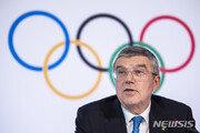 """바흐 IOC 위원장 """"도쿄올림픽, 코로나19 극복 축하하는 자리 되길"""""""