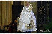 """교황, 코로나19 전세계 특별 강복…""""모두가 한 배 탔다"""""""