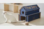 TV상자로 만든 고양이 집… 삼성 '에코 패키지' 선보여