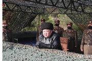 """김정은, 박격포병구분대 포사격 훈련 지도…""""결과 대만족"""""""