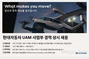 현대차, 도심 항공 모빌리티 분야 경력직 채용
