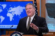 """폼페이오 """"北에서 어떤 일 일어나든 완전·검증가능한 비핵화가 목표"""""""