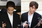 '만취여성 집단성폭행' 정준영·최종훈 2심 선고…1심 징역 각 6·5년
