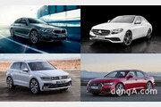 """'아우디·폭스바겐' 가세하니 수입차 판매 25.9%↑… """"다시 독일차 4강 체제"""""""