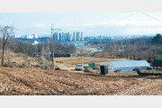 3.3㎡ 최대 79만원… 의왕 초평동 그린벨트 토지