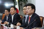 미래한국당, 전당대회 일주일 연기…원유철 임기 8월 말까지 연장