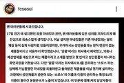 """프로축구연맹 """"FC서울, 리얼돌 논란 경위 파악 중"""""""