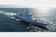 현대重 건조 필리핀 해군 호위함, 마스크 싣고 출항
