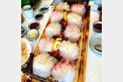 [임선영 작가의 오늘 뭐 먹지?]싱싱한 갈치회와 해산물의 '제주바다 한상'