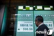 홍콩 증시, 中 국가보안법 초안 제출에 4%대 폭락