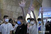 """홍콩 범민주 """"일국양제 사망""""…中 국가보안법 제정 움직임에 격분"""