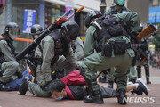 """홍콩서 국가법 반대 시위…""""경찰 강경 진압 속 최소 300명 체포"""""""