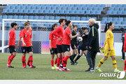 한-중 여자축구 올림픽 최종예선 PO, 2021년 2월 19일·24일 개최