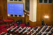 홍콩보안법 표결… '용감한 반란표' 1명은 누구?