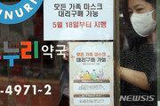 이번 주말 마스크 976만장 공급…약국·하나로마트 판매