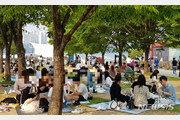 올해 가장 더운 날…PC방도 한강공원도 곳곳 '탈마스크'