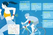 앱으로 기록 공유… 슬기로운 운동생활