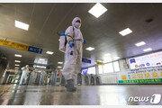 서울 지하철, 매일 1만5천리터 소독제 사용…37만회 방역