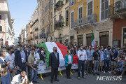 이탈리아, 총 감염자 4만명 아래로…극우는 '反정부 시위'