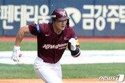 '6월 뜨거운 타격감' 키움 김하성, 3경기 연속 멀티히트 활약