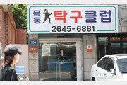서울서 양천구 탁구장 관련 4명 확진…리치웨이·해외관련 확진자도 속출
