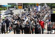 현대중 노조, 파업과 교섭 동시 진행…전방위 투쟁