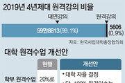 학부 원격수업 99%까지 가능… 해외대학과 공동학사-석사 허용