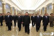 [속보]北김정은, 김일성 사망 26주기 맞아 금수산태양궁전 참배