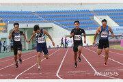 김국영, 올해 첫 100m 레이스서 10초39…종별대회 우승