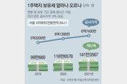 공시가 현실화 등으로 '체감 세금' 급증